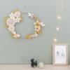 ambiance décoration murale couronne lilwenn poudre millimetree
