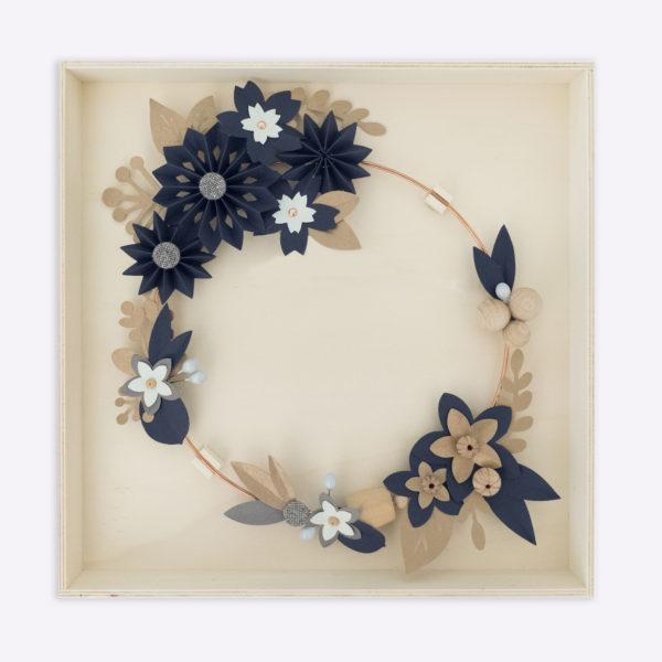 packaging couronne de fleurs millimetree
