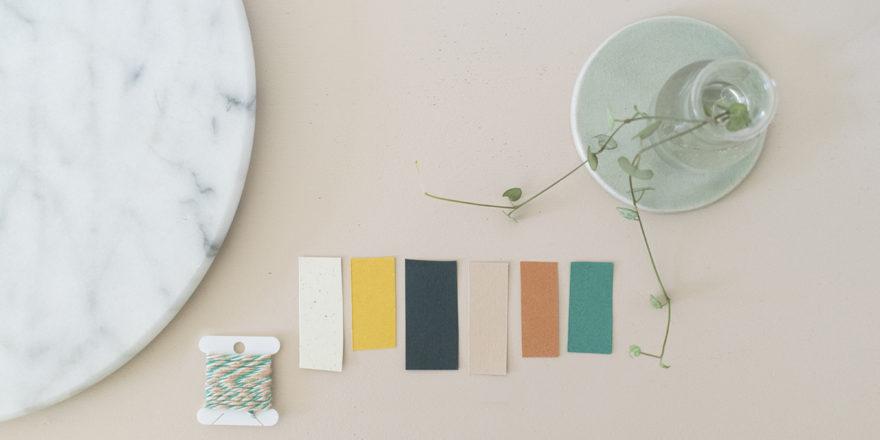 gamme papiers texturés fil coton bio