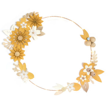 couronne lilwenn XL | moutarde |