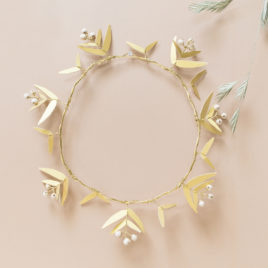 Couronne Filaire | baie rose |