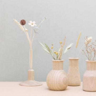 4 Soliflores bois | labo fleuri |